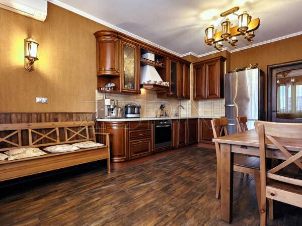 Угловая кухня из МДФ Алина