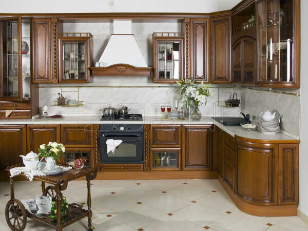 Кухня из массива Дарина