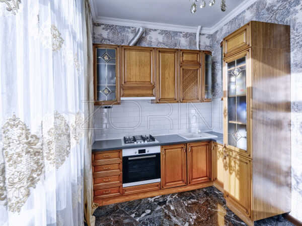 Кухня из массива дуба Эллада