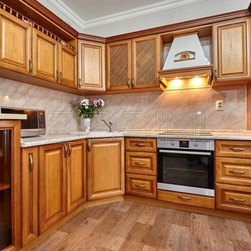 Кухня из массива дуба Карла