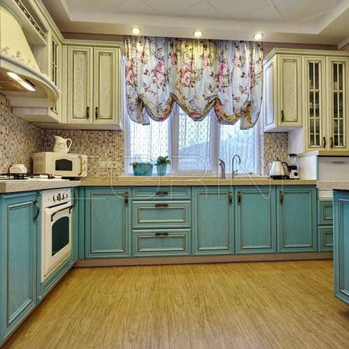 Кухня из массива дуба Ульяна