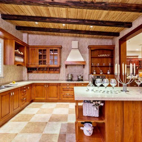 Кухня из массива дуба Джанфранко