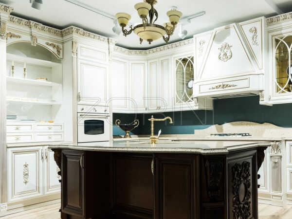 Кухня из массива Куцин