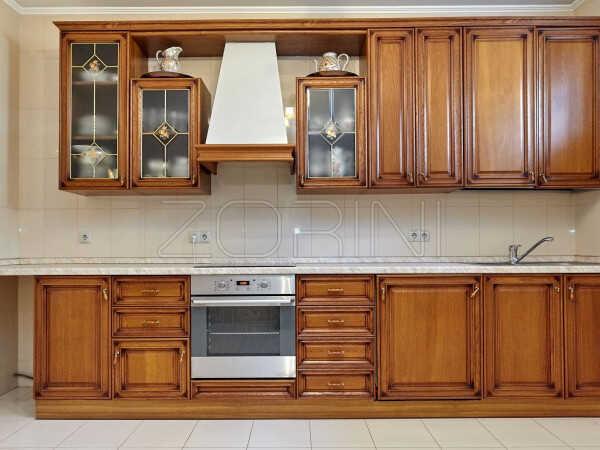 Кухня из массива дуба Зампа