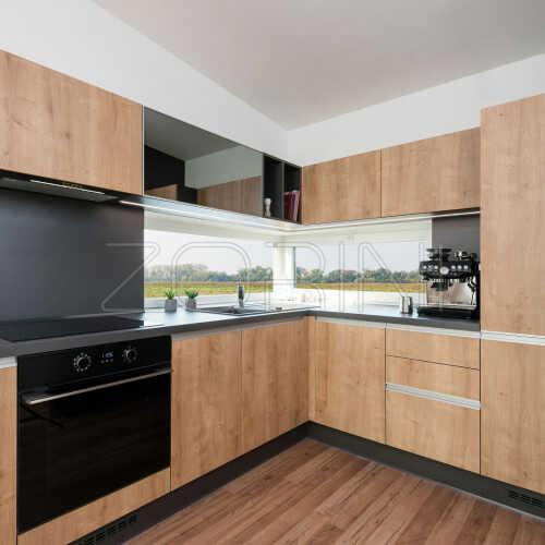 Угловая кухня Палисандр