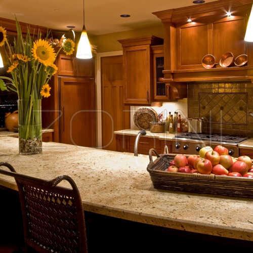Кухня из натурального массива Элинора