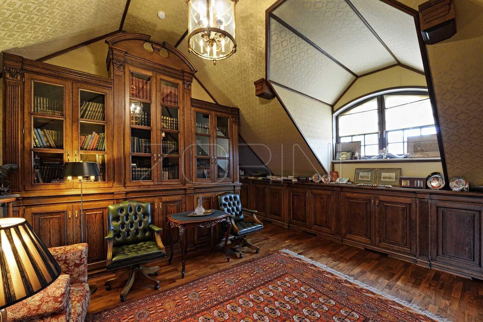Кабинет-библиотека Крац - фото