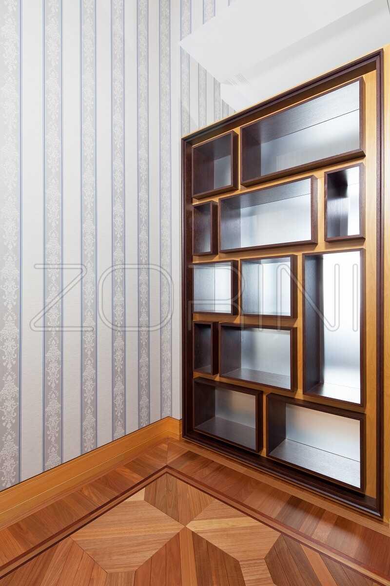 Книжные шкафы из массива Гагара - фото