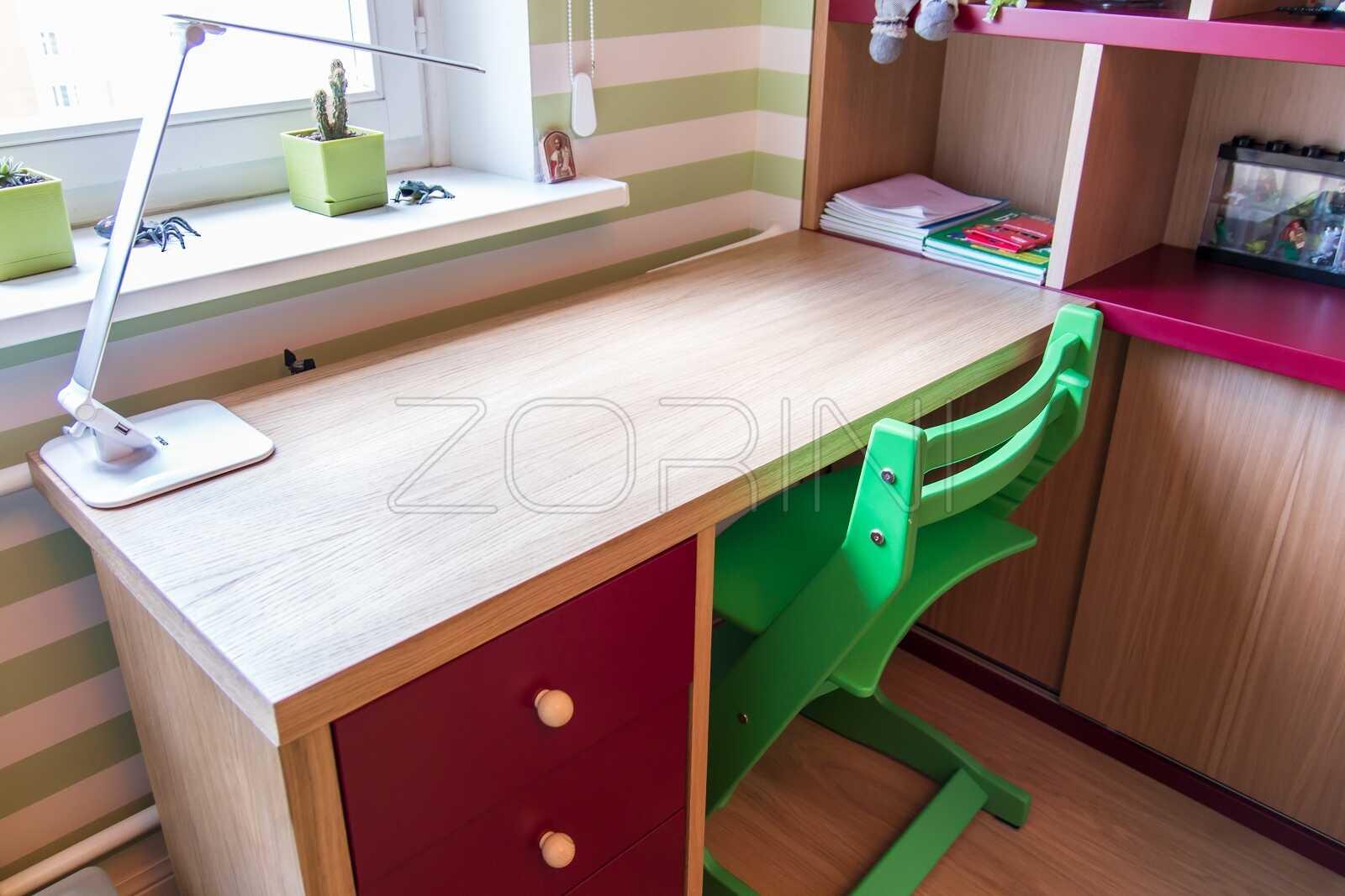 Детский стол из бука Гранада - фото