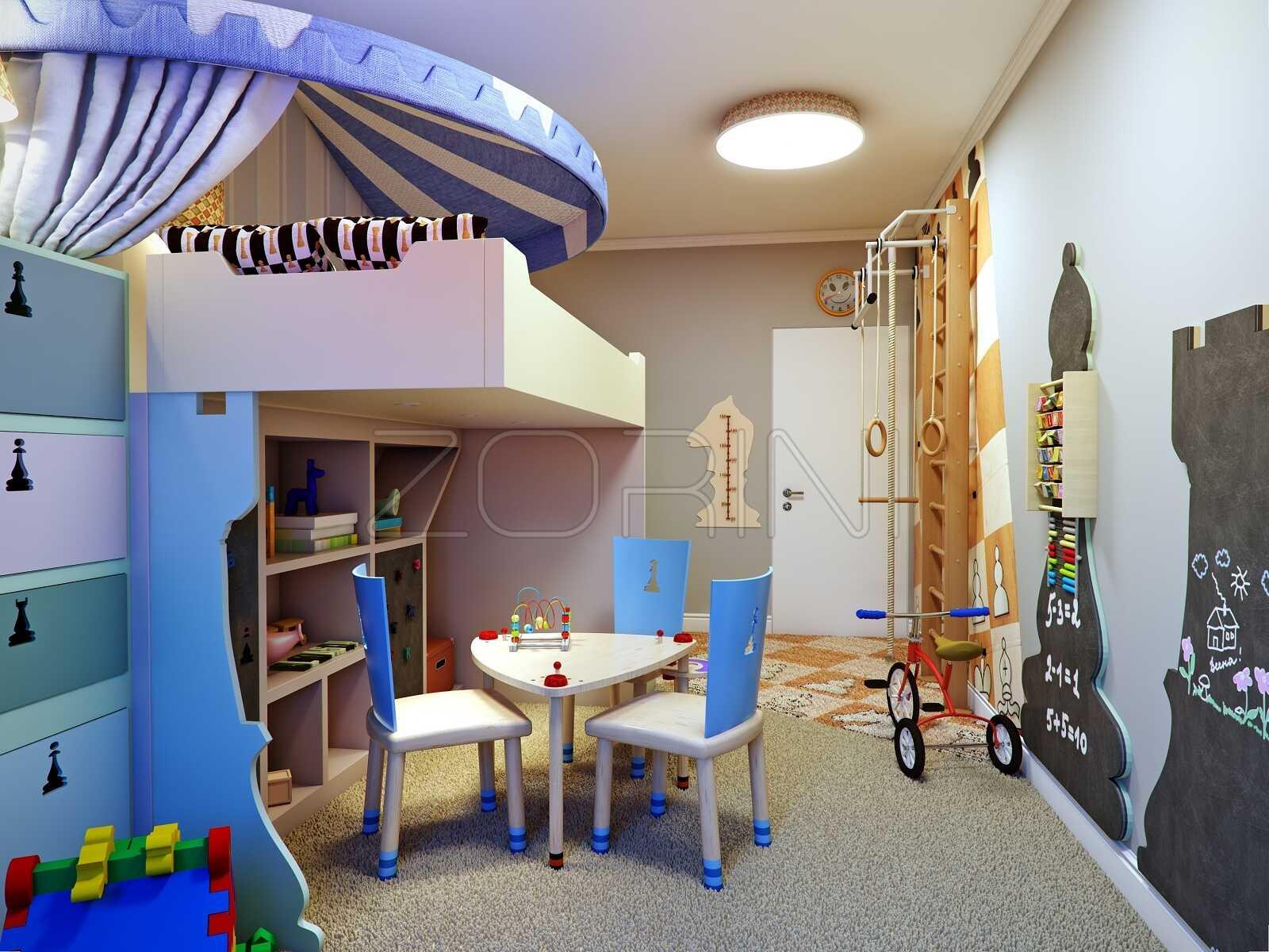Детские двухярусные кровати Загадка - фото