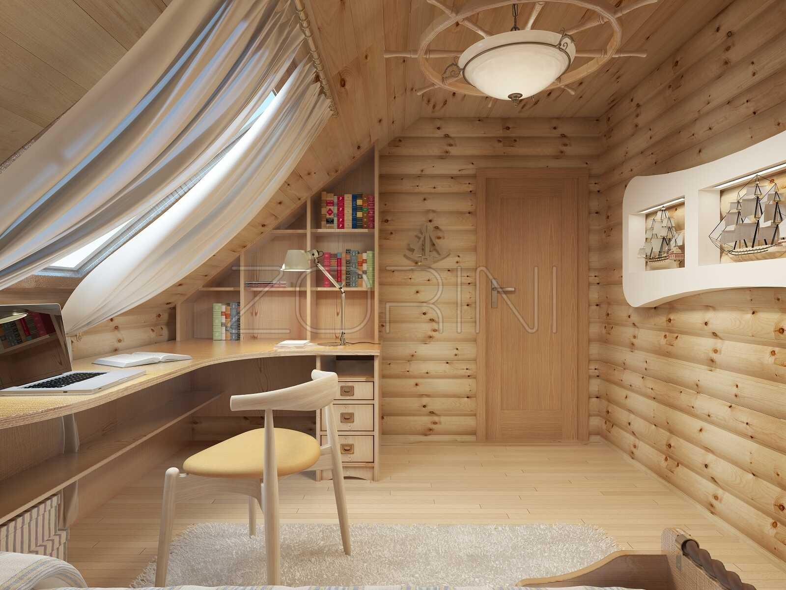 Шкафы в детскую из массива дерева Алекс - фото