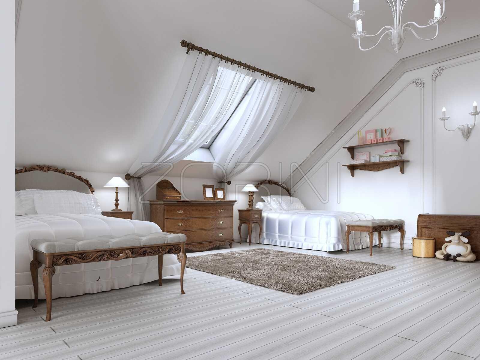 Классическая детская кровать Милана - фото