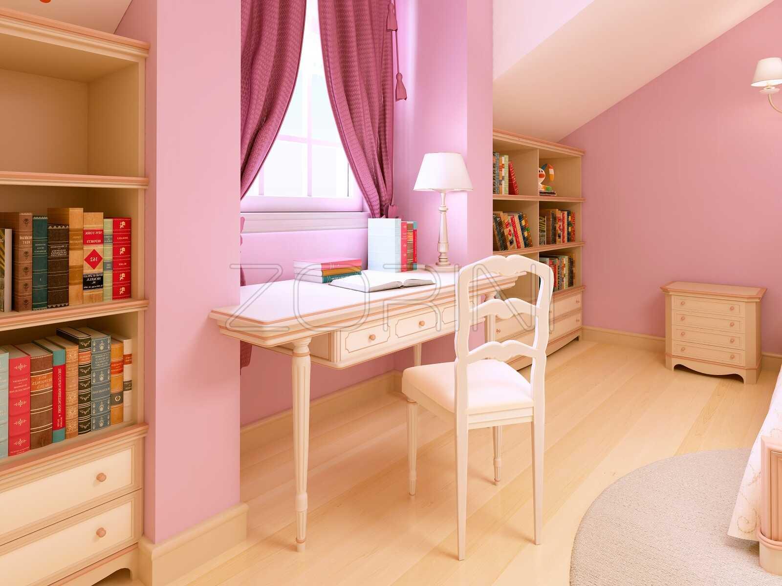 Стол из бука в детскую Сарагоса - фото