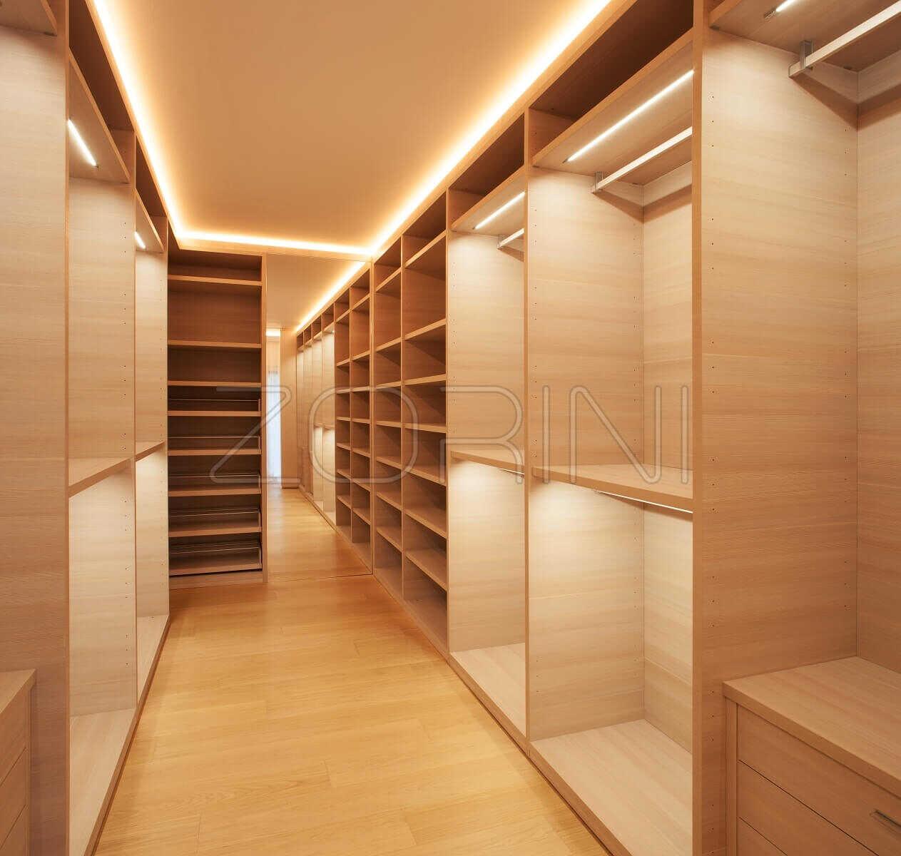 Встроенная гардеробная Роттердам  - фото