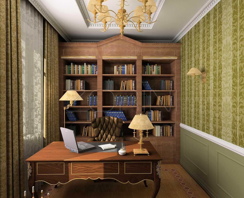 Кабинет в классическом стиле Артур - фото
