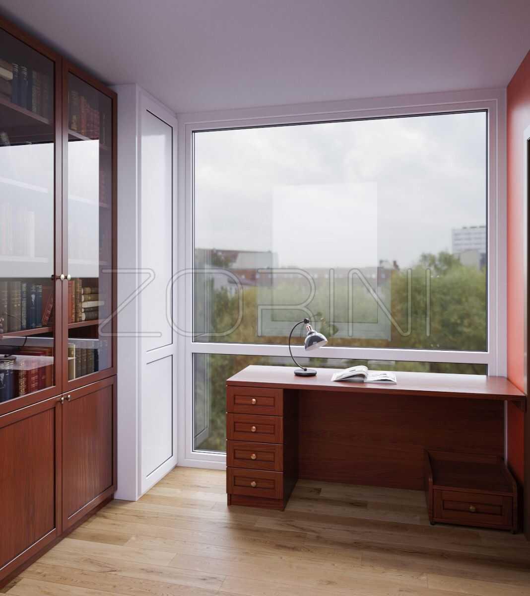 Стол в кабинет из массива дерева Рублевка - фото
