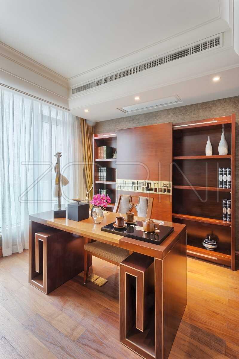 Современная мебель для кабинета Коламбус - фото