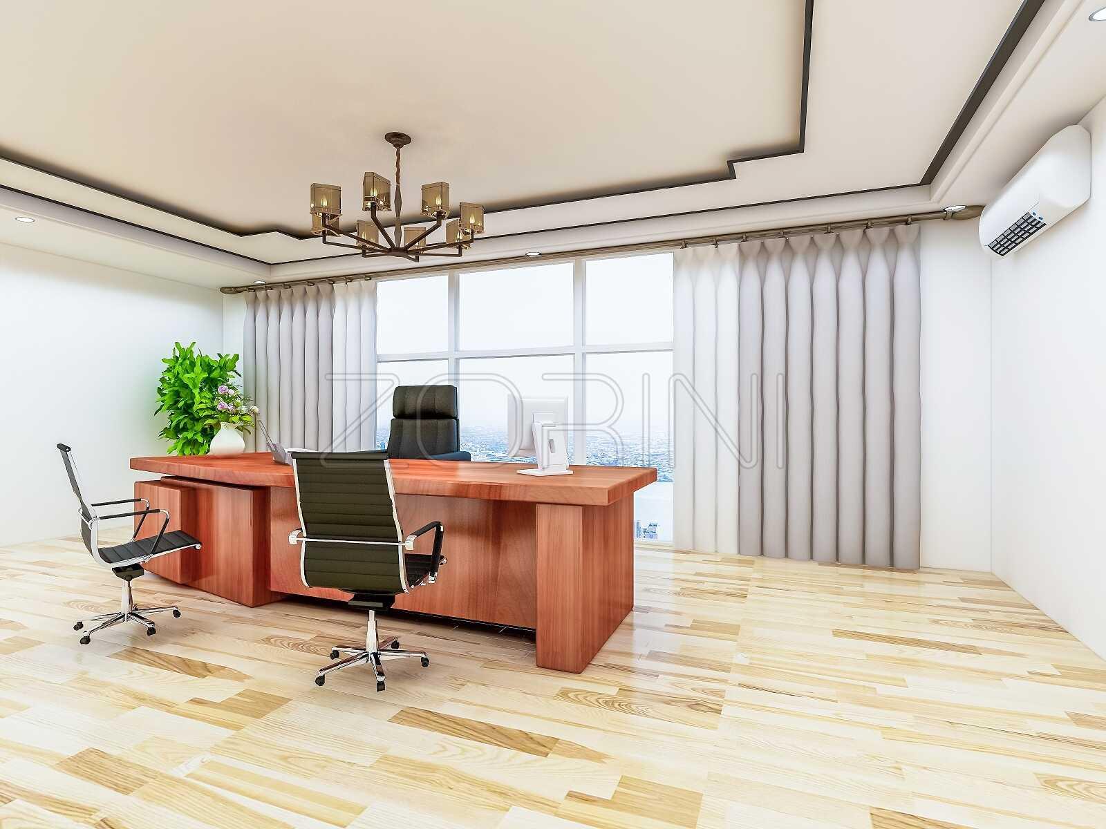 Современный кабинет руководителя Буффало - фото