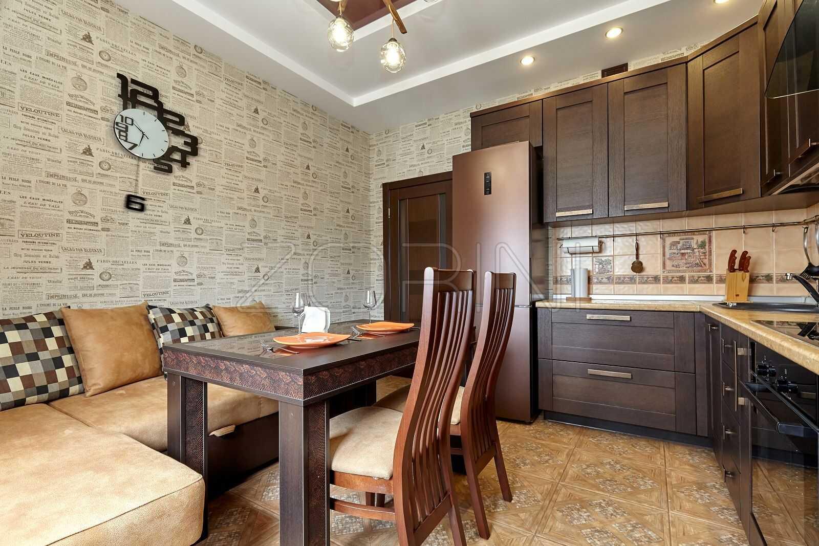 Мебель для кухни из массива дуба Фантини - фото
