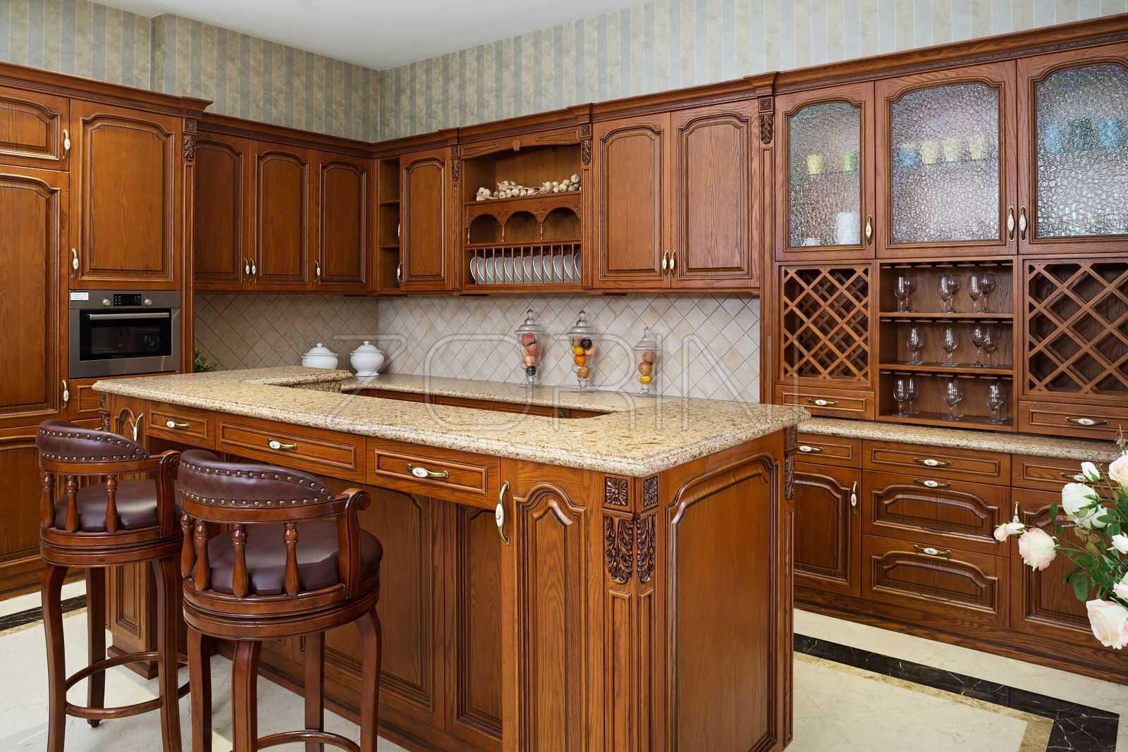Кухни Ферре из массива   - фото