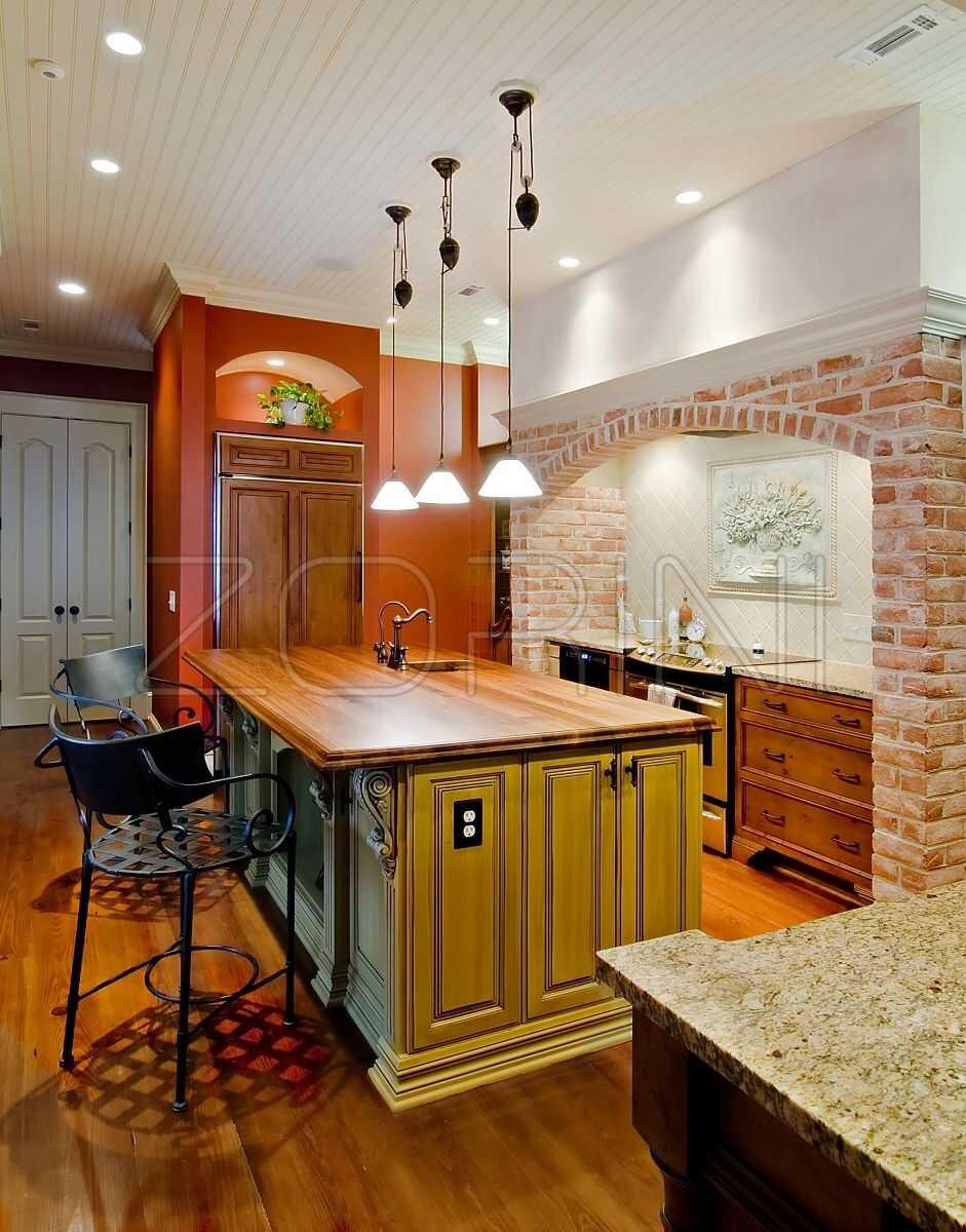 Мебель для кухни Ферретти из массива - фото