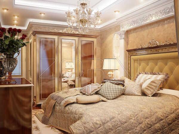 Мебель для спальни Акара в итальянском стиле - фото