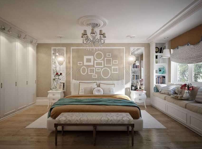 Мебель для спальни Акула в стиле прованс- фото