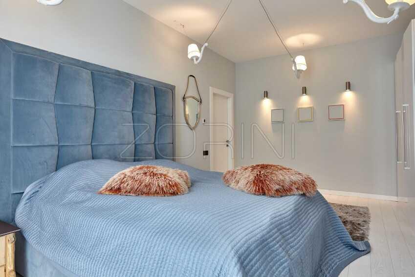 Мебель для спальни Арта синего цвета - фото