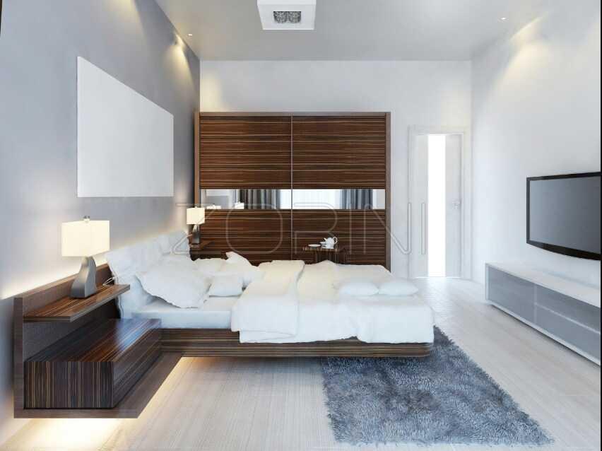 Мебель для спальни Аворья в стиле минимализм - фото