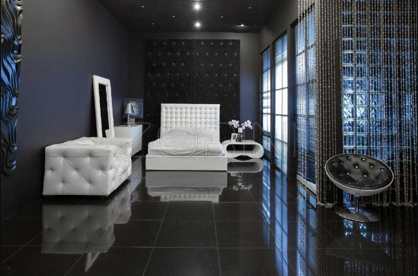 Спальня Джая в современном стиле  - фото