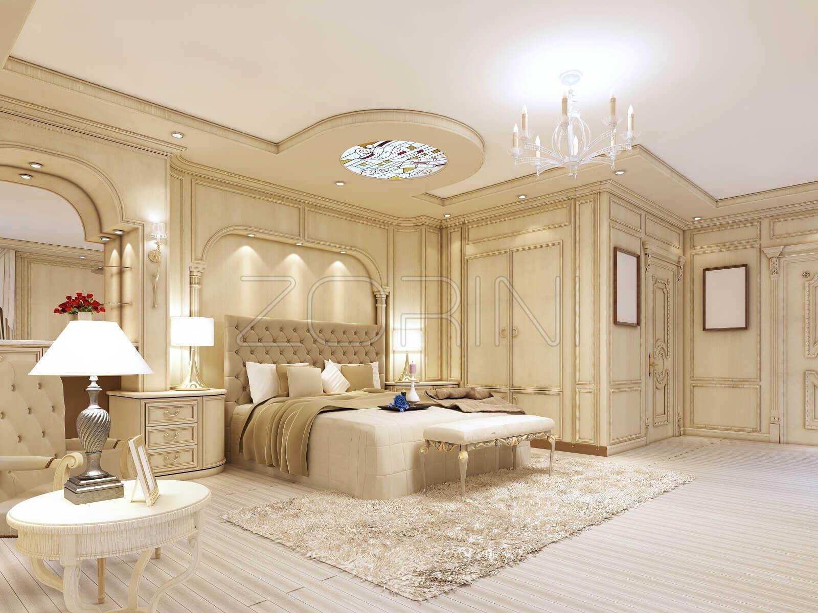 Мебель для спальни в загородном стиле Фиона - фото