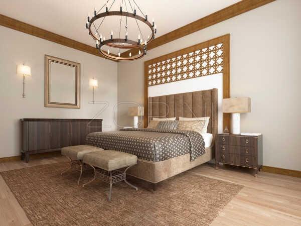 Спальня Изабель в стиле арт деко - фото