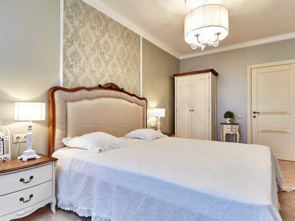 Спальня  Кардица белого цвета   - фото