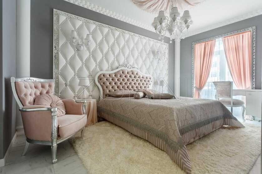 Спальня Кавала в классическом стиле - фото