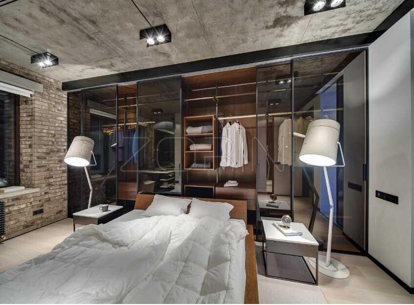 Мебель для черной спальни Килкис - фото