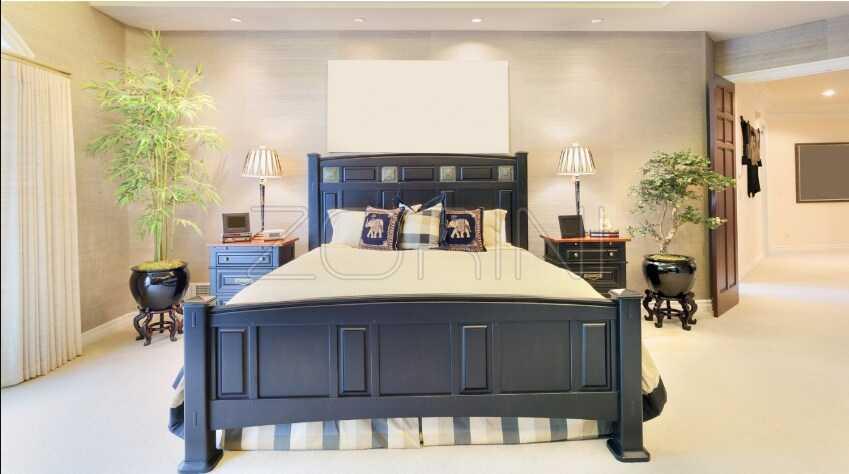 Спальня Сара синего цвета   - фото