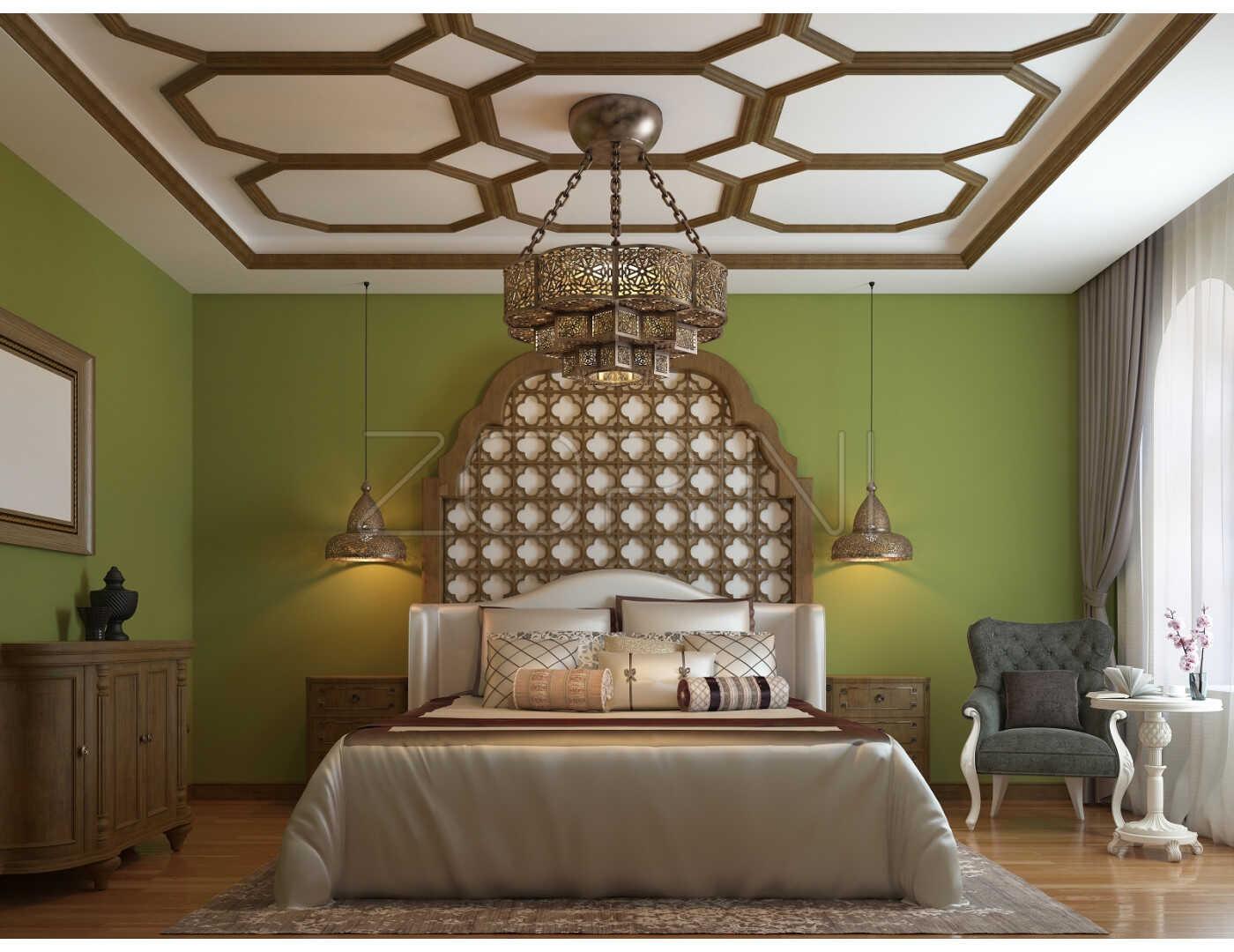 Спальня Злата в загородном стиле  - фото