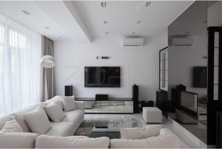 Мебель в гостиную минимализм Ахмен - фото