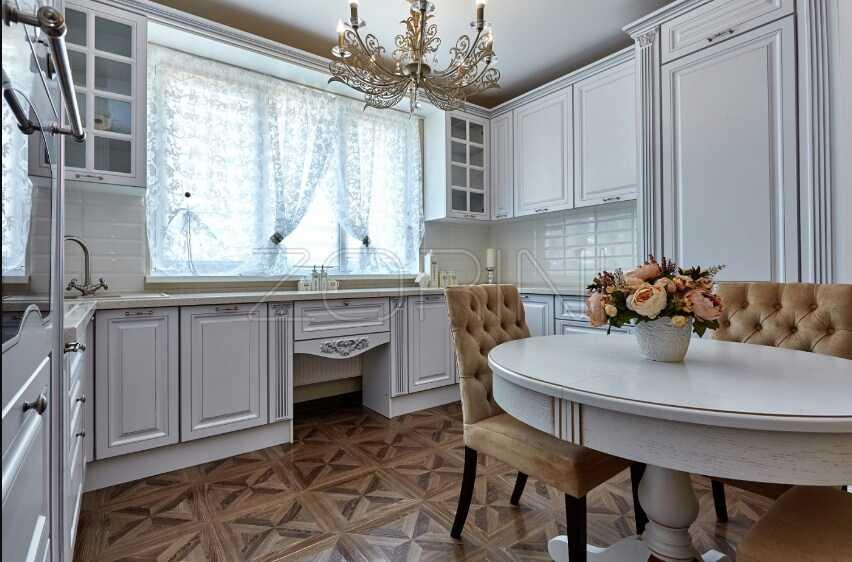 Мебель в гостиную в английском стиле Анапа - фото