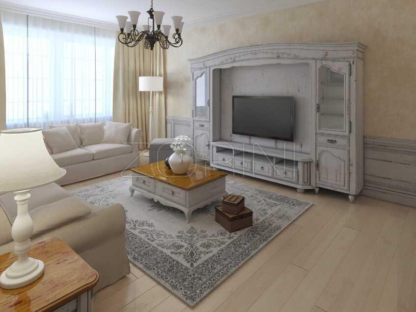 Мебель в гостиную Борба в итальянском стиле - фото