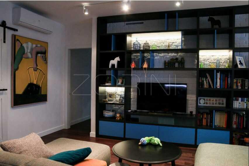 Гостиная Касатка под телевизор - фото