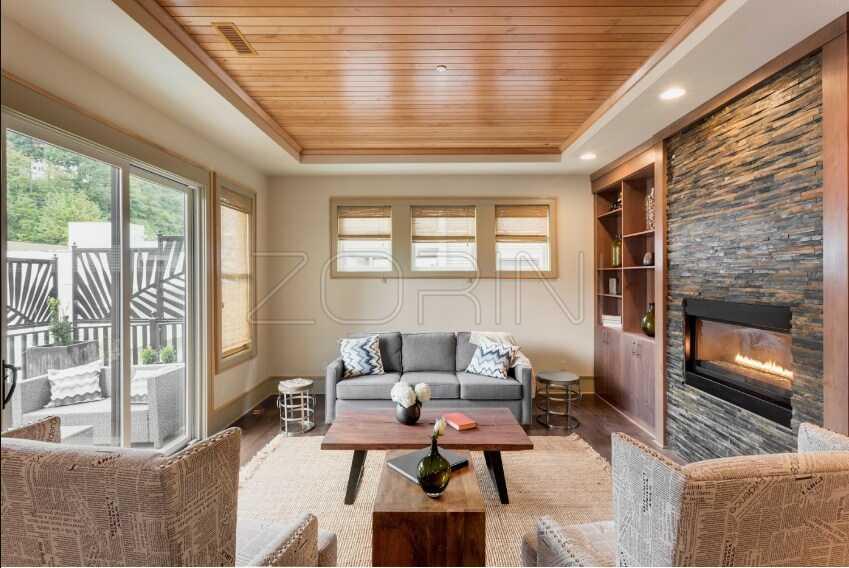 Мебель в гостиную со шкафом Левен - фото