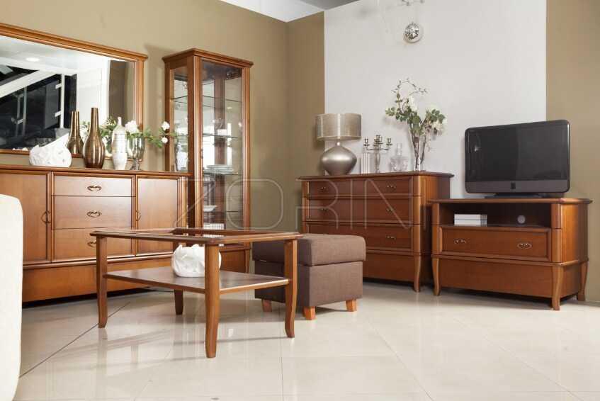 Мебель в гостиную классика Прага - фото
