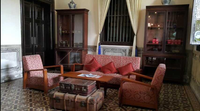 Гостиная Пушкин в английском стиле   - фото